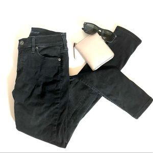 Levis Empire Skinny Jeans Faded Black 26X30
